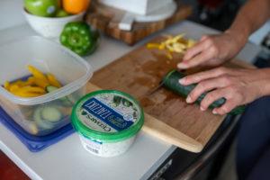 Healthy Snack preperation